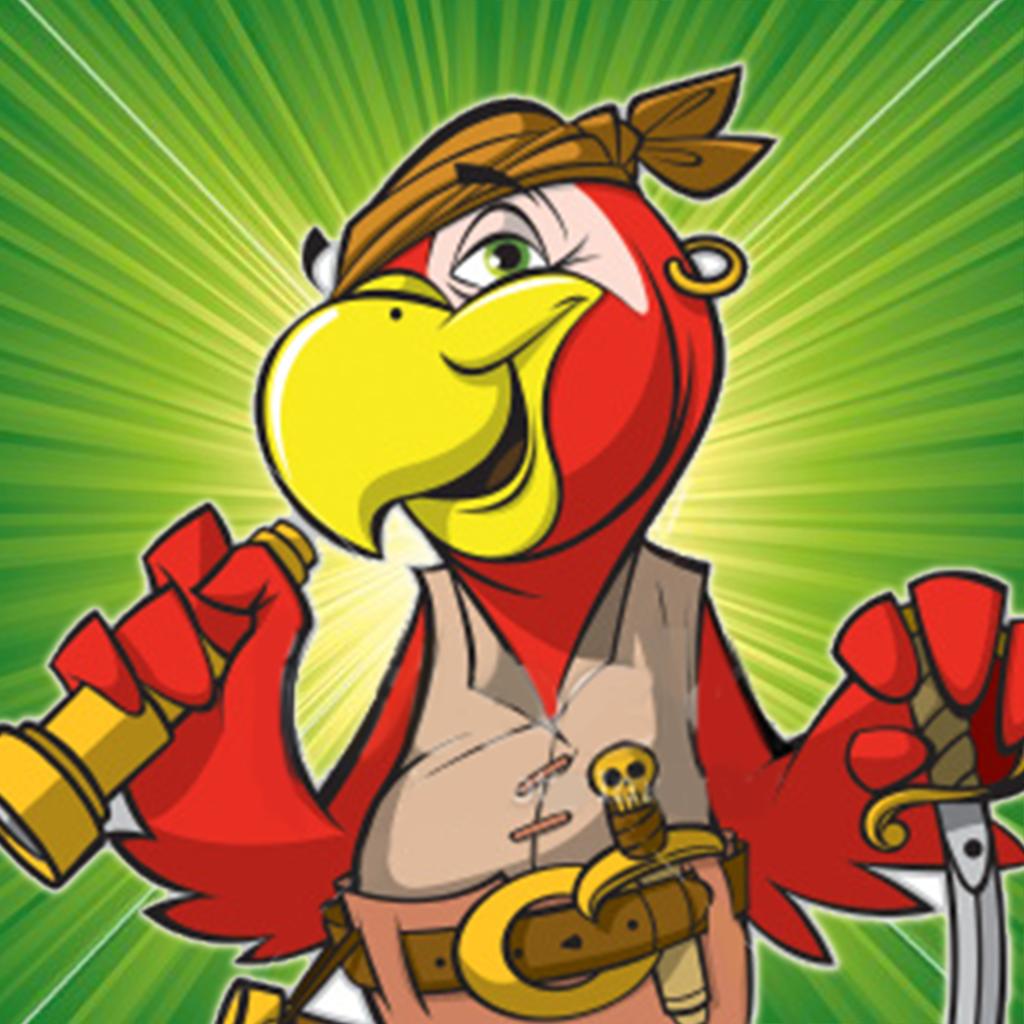 Падение попугай яйца спасение - Пиратские острова приключение